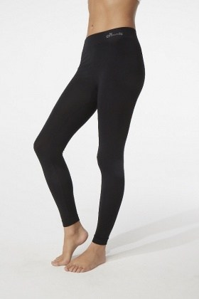 Boody Organic Bamboo Full Leggings Black  L