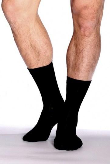 Boody Organic Bamboo Mens Business Socks Black