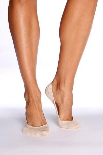Boody Organic Bamboo Womens Sock Low Hidden Nude Size 3-9