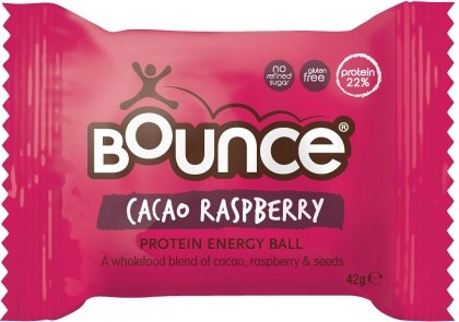 Bounce Cacao Raspberry Protein Balls  12x42g