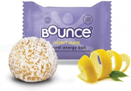 Bounce Coconut Lemon Balls  12x40g