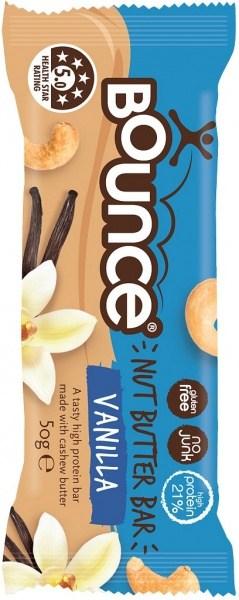 Bounce Nut Butter Bars Vanilla 12x50g