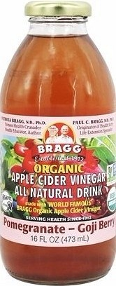 Bragg Apple Cider Vinegar Drink Pomegranate & Goji Organic  473ml