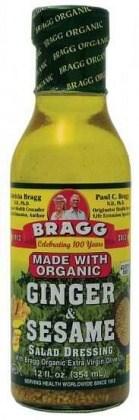Bragg Dressing Ginger & Sesame Organic 355ml