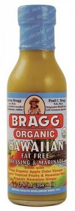 Bragg Dressing Hawaiian Organic 355ml