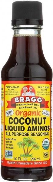 Bragg Seasoning Coconut Aminos Organic Liquid 296ml
