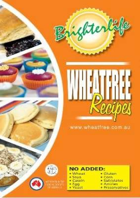 Brighter Life Wheat Free Recipe Book