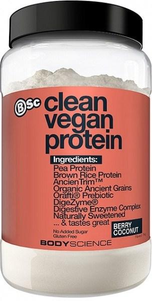 BSc Clean Vegan Protein Powder Berry Coconut  1Kg