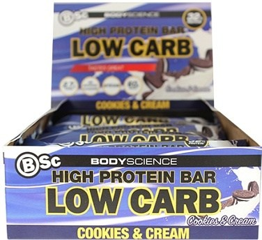 BSc High Protein Bar Cookies & Cream 12x60g