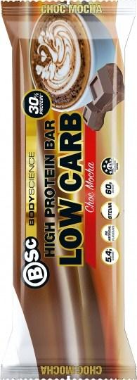 BSc High Protein Low Carb Bar Choc Mocha 8x60g