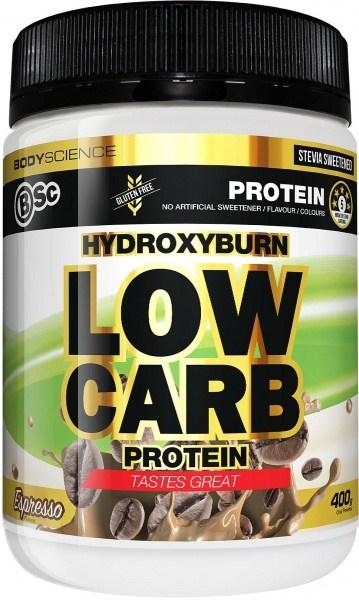 BSc HydroxyBurn Low Carb Protein Espresso 400g