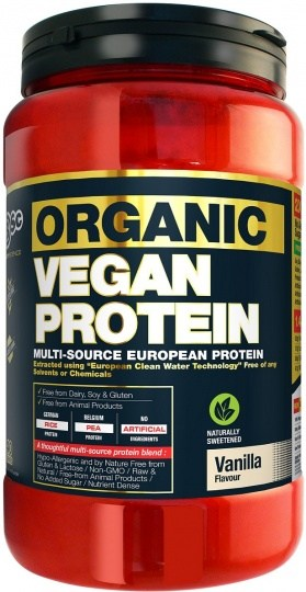 BSc Naturals Organic Vegan Protein Vanilla 1Kg