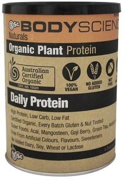 BSc Naturals Organic Vegan Protein Vanilla 350g