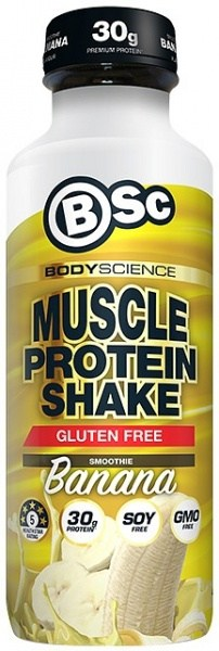 BSc RTD Muscle Protein Shake Banana Smoothie  450ml