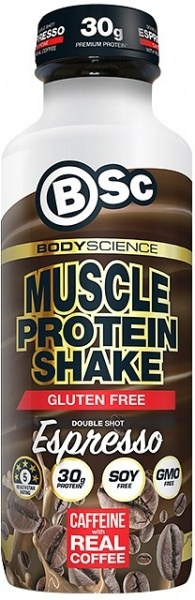 BSc RTD Muscle Protein Shake Double Shot Espresso  450ml