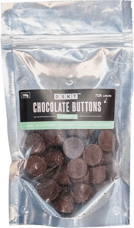 BSKT Chocolate Buttons Mint Slice 150g