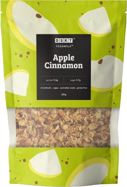 BSKT Veganola Apple Cinnamon 250g