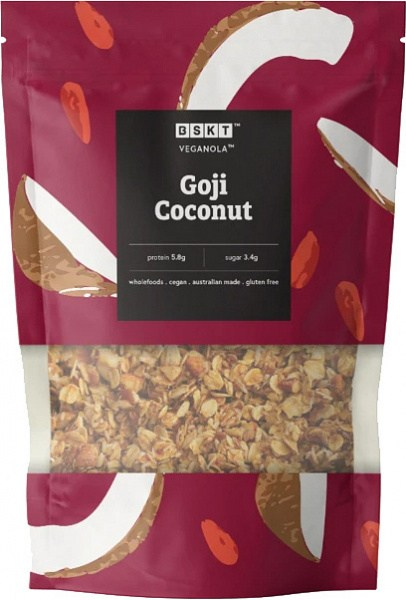 BSKT Veganola Goji Coconut 800g