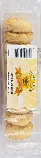 Busy Bees Gluten Free Lime & Coconut 185g