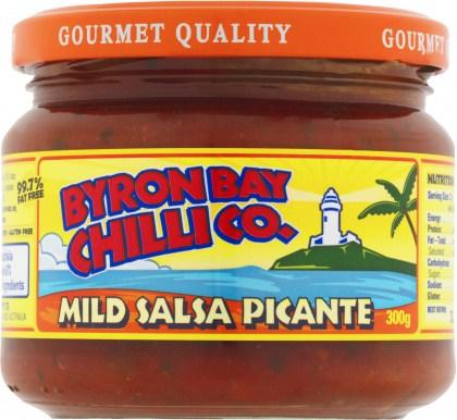 Byron Bay Chilli Mild Salsa Picante 300g