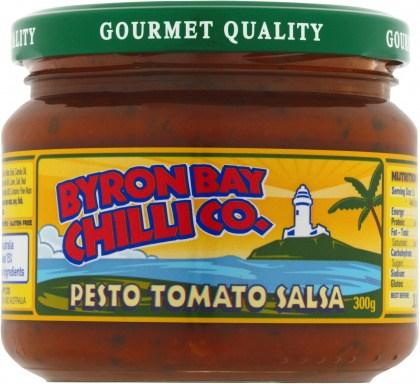 Byron Bay Chilli Pesto Tomato Salsa  300g