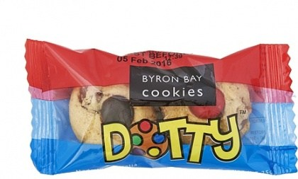 Byron Bay Cookies 2Pack Dotty Baby Buttons 100x25g
