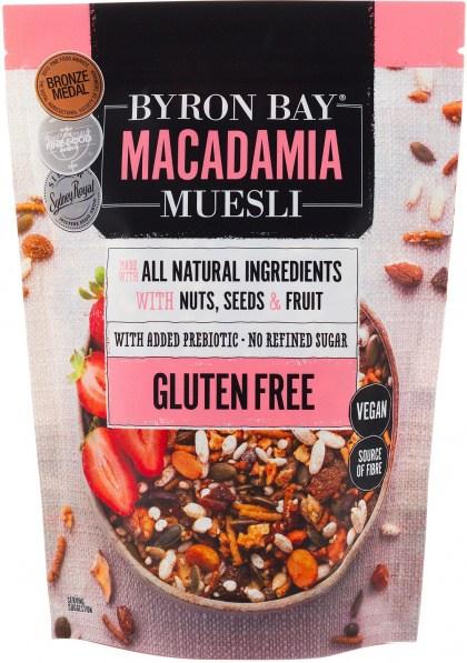 Byron Bay Macadamia Muesli Gluten Free Vegan 700g
