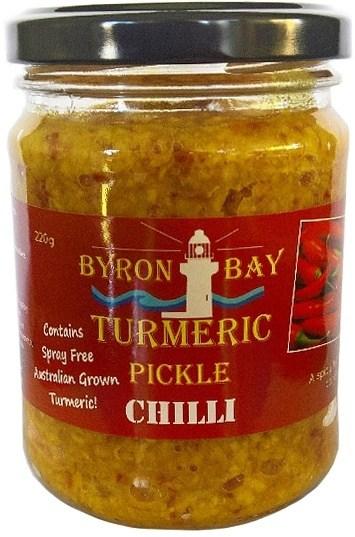 Byron Bay Turmeric Pickle Chilli 220g SEP20