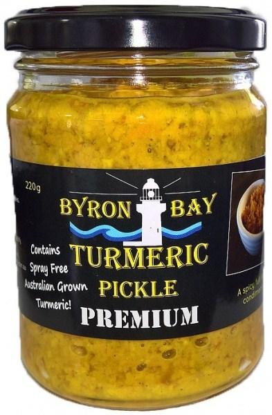 Byron Bay Turmeric Pickle Premium  220g