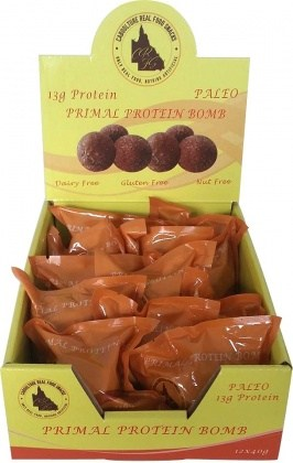 Caboolture Real Food Snacks K.I.S Balls Choc Mint (5 balls)  12x75g