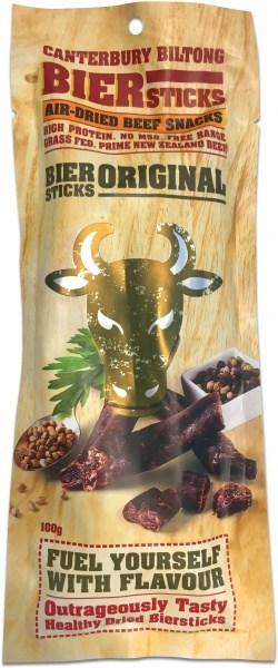 Canterbury Biltong Bier Sticks Original 100g