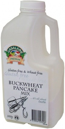 Casalare Buckwheat Pancake Mix 300g Bottle