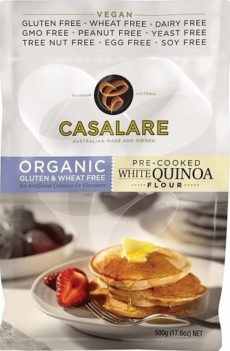 Casalare Organic Pre-Cooked Quinoa Flour 500g