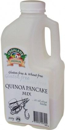Casalare Quinoa Pancake Mix 300g Bottle