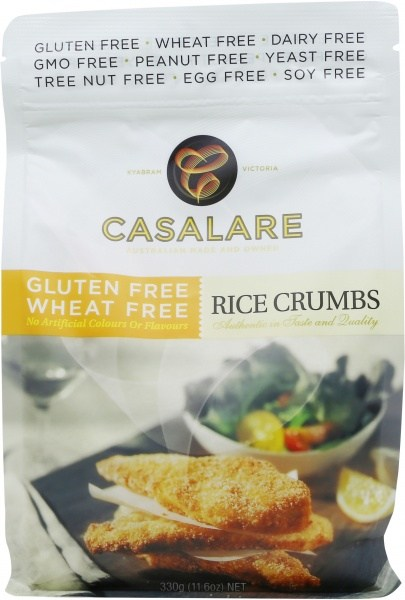 Casalare Rice Crumbs 330g Bag