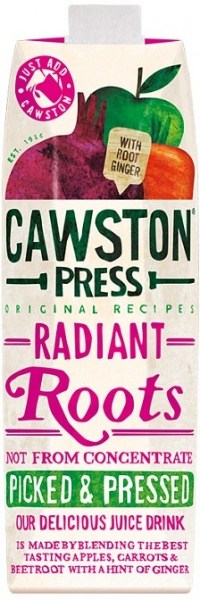 Cawston Press Radiant Roots with Root Ginger 1L