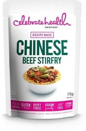 Celebrate Health Chinese Beef Stir-Fry Recipe Base 175g