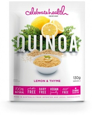 Celebrate Health Lemon & Thyme Quinoa 130g