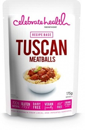 Celebratehealth Tuscan Meatballs Recipe Base 175g JUL15