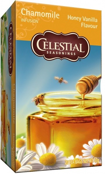Celestial Seasonings Honey Vanilla Chamomile Tea 20Teabags JUN20
