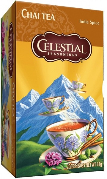 Celestial Seasonings India Spice Chai Tea 20Teabags