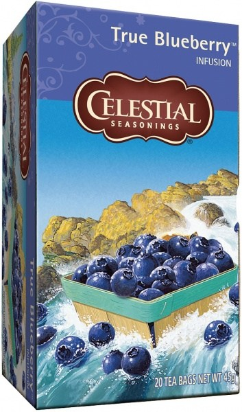 Celestial Seasonings True Blueberry Tea 20Teabags