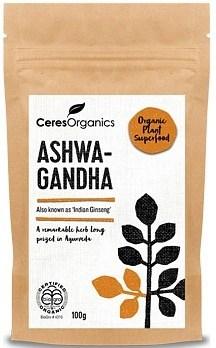 Ceres Organics Ashwangandha Powder 100g