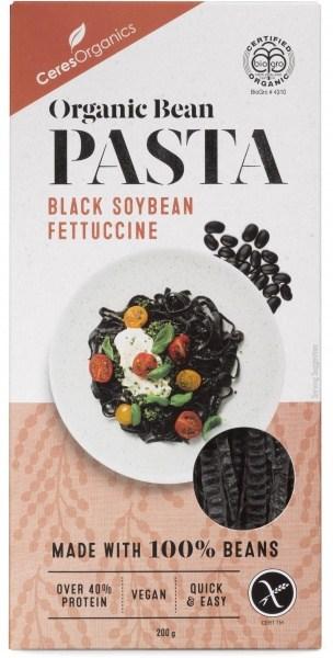 Ceres Organics Bio Bean Pasta Black Soybean Fettuccine 200g