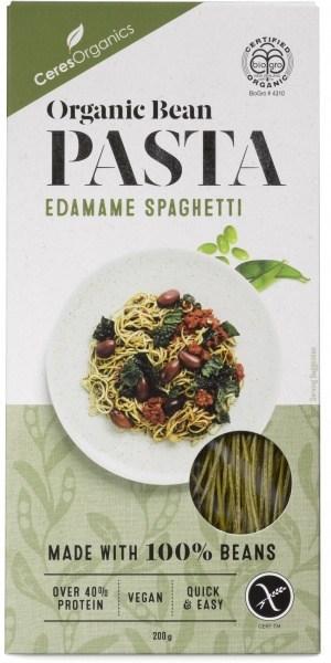Ceres Organics Bio Bean Pasta Edamame Spaghetti 200g