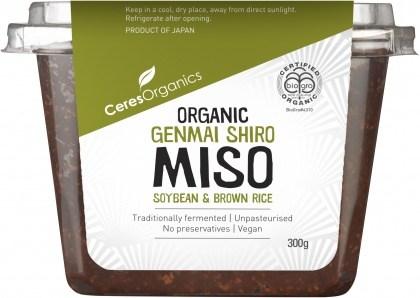 Ceres Organics Bio Genmai Shiro Miso Soybean & Brown Rice 300g