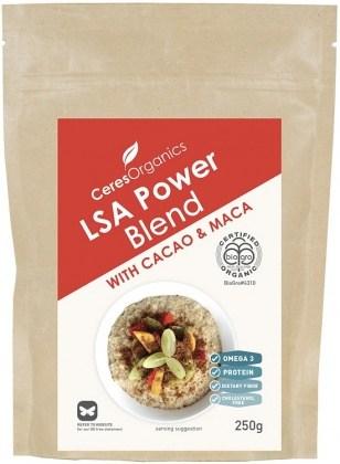 Ceres Organics Bio LSA Power Blend With Cacao & Maca 250g