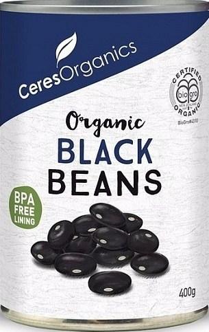 Ceres Organics Black Beans 400g (Can)