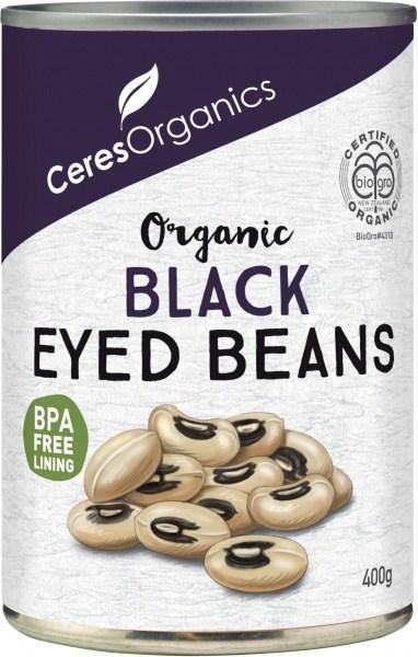 Ceres Organics Black Eyed Beans 400g (Can)
