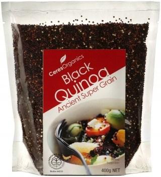 Ceres Organics Black Quinoa Grain 400g